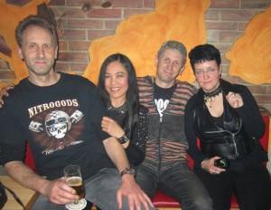 Thorsten, Pim. Stefan, Chrissy